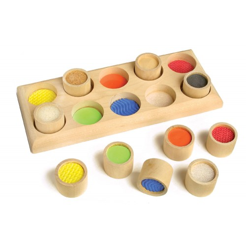 F hlmemo zum trainieren des tastsinns holzspielzeug profi for Holzspielzeug profi