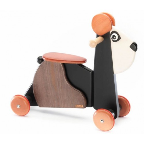 Tedefamily rutschpanda emil beim holzspielzeug profi for Holzspielzeug profi