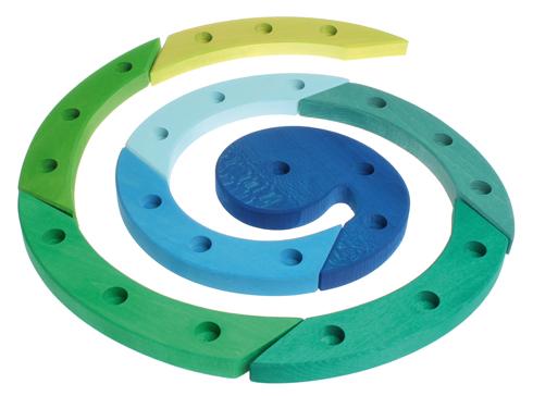 GRIMM´S Geburtstagsspirale blau grün
